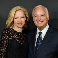 Olga Rickards and Jack Canfield